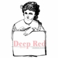 Deep Red Cling Stamp - Artist For Hire