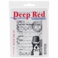 "Deep Red Cling Stamp - ATC Prof. Boston 2.5""x3.5"""