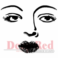 Deep Red Stamp - Bette Davis Eyes