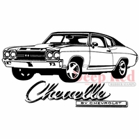 Deep Red Stamp - Chevelle