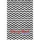 Deep Red Cling Stamp - Chevron Weave