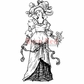 Deep Red Cling Stamp - Countess