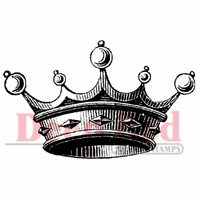 Deep Red Stamp - Crown For Royalty