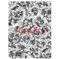 Deep Red Cling Stamp - Floral Trumpets Background