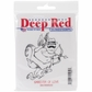 Deep Red Cling Stamp - Gangster Of Love