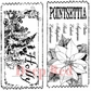 Deep Red Cling Stamp - Holiday Tickets