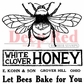 Deep Red Cling Stamp - Honey Bee Vintage