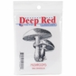 "Deep Red Cling Stamp - Mushrooms 2""x2"""