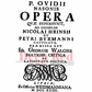 Deep Red Cling Stamp - Opera Playbill