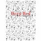 Deep Red Cling Stamp - Paint Spatter Background