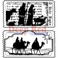 Deep Red Stamp - Tickets To The Nativity