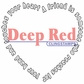 Deep Red Cling Stamp - Touched By A Friend
