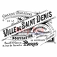 Deep Red Cling Stamp - Ville De Saint Denis