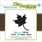 "Die-Versions Sweet Petites Die - Maple Leaf, 1.937""x2"""