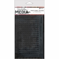 Dina Wakley Media Large Paint Combs - Squares