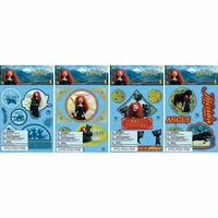 Disney Brave Movie Sticker Medley Clip Assortment