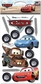 Disney Cars Dimensional Stickers - Cars