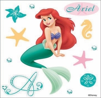 Disney Dimensional Sticker - Ariel