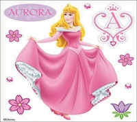 Disney Dimensional Sticker - Aurora
