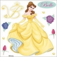 Disney Dimensional Sticker - Belle