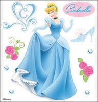 Disney Dimensional Sticker - Cinderella