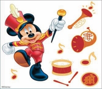 Disney Dimensional Sticker - Mickey Parade
