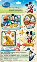 Disney Dimensional Stickers - Mickey Family Boys