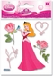 Disney Dimensional Stickers - Sleeping Beauty With Rose