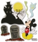 Disney Dimensional Vacation Stickers - Haunted House Mickey