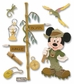 Disney Dimensional Vacation Stickers - Jungle Mickey