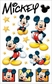 Disney Gems Stickers - Mickey