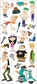 Disney Large Flat Stickers - Phineas & Ferb