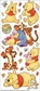 Disney Large Flat Stickers - Pooh With Characters