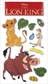 Disney Le Grande Stickers - The Lion King