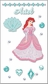 Disney Princess Jewels Le Grande Dimensional Stickers - Ariel