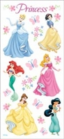 Disney Princess Stickers - Princess Dreams Glitter