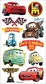 Disney Puffy Stickers - Cars