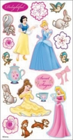 Disney Puffy Stickers - Princess Sweet As Sugar