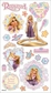 Disney Puffy Stickers - Rapunzel