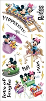 Disney Stickers/Borders - Amusement Park Rides