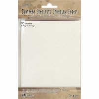 "Distress Specialty Stamping Paper 4.25""x5.5"""