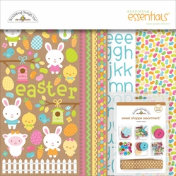 "Doodlebug Easter Parade Essentials Page Kit 12""x12"" - Click to enlarge"