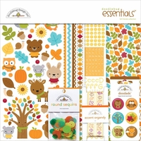 "Doodlebug Essentials Page Kit 12""x12"" - Fall Friends"