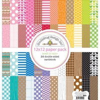Doodlebug Kraft In Color Collection