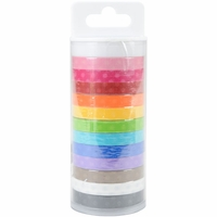 Doodlebug Monochromatic Washi Tape Value Pack - Polka Dot
