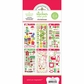 Doodlebug Themed Value Pack Stickers - Christmas