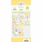 Doodlebug Themed Value Pack Stickers - Spring