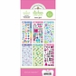 Doodlebug Themed Value Pack Stickers - Teen Girl