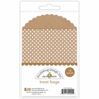 Doodlebug Treat Bags - Polka Dot