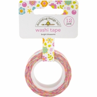 Doodlebug Washi Tape - Bright Blossoms